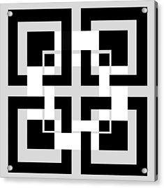 Abstract Geometric  Acrylic Print