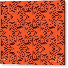 Abstract Geometric Seamless Pattern Acrylic Print by Alexander Rakov