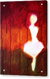 Abstract Ghost Figure No. 2 Acrylic Print