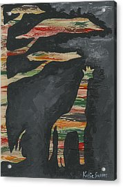 Abstract Giraffe Acrylic Print