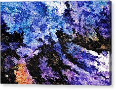 Abstract Granite Acrylic Print by Ludwig Keck