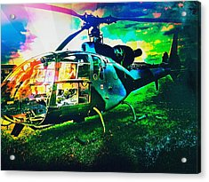 Abstract Helicopter  Acrylic Print