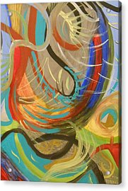 Abstract I Acrylic Print by Julie Crisan