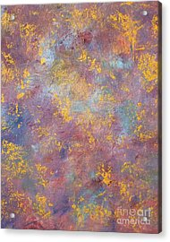 Abstract Impressions Acrylic Print by Donna Dixon
