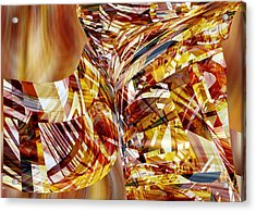 Kimono Silk -  Abstract Art Acrylic Print