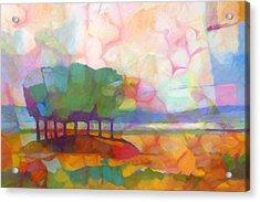 Abstract Landscape Acrylic Print by Lutz Baar
