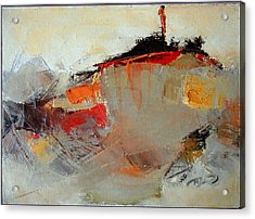 Abstract Lsndscape Acrylic Print by  Pemaro