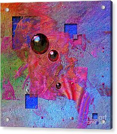 Abstract Messanger Acrylic Print