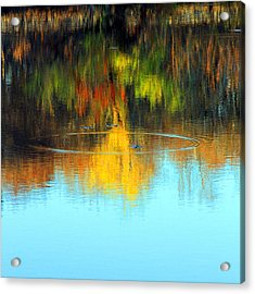 Abstract Nature Acrylic Print by MPG Artworks