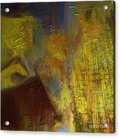 Abstract No. 228 Acrylic Print by Shesh Tantry