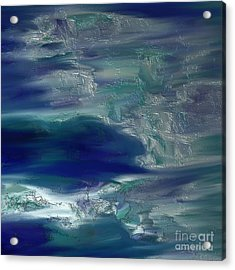 Abstract No. 230 Acrylic Print by Shesh Tantry