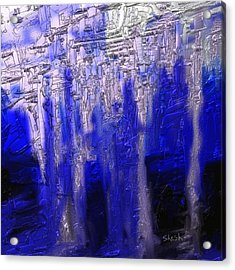 Abstract No. 55 Acrylic Print by Shesh Tantry