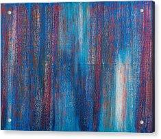 Abstract No 7 Beati Qui Vident Acrylic Print
