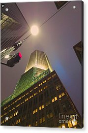 Acrylic Print featuring the photograph Abstract Ny by Andy Heavens