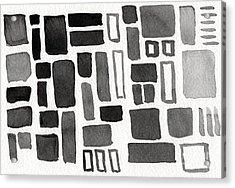 Abstract Open Windows Acrylic Print