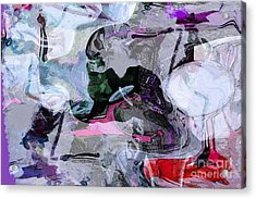 Abstract Organic Intuitive # 11 Acrylic Print by Ginette Callaway