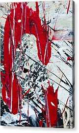 Abstract Original Painting Untitled Nine Acrylic Print