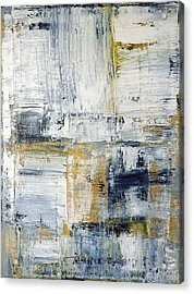 Abstract Painting No. 2 Acrylic Print by Julie Niemela