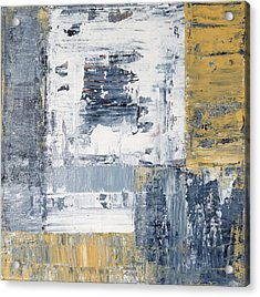 Abstract Painting No. 3 Acrylic Print by Julie Niemela