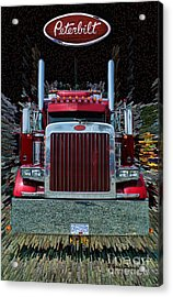 Abstract Peterbilt Acrylic Print