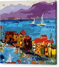 Abstract Portovenere Italy Part Two Acrylic Print