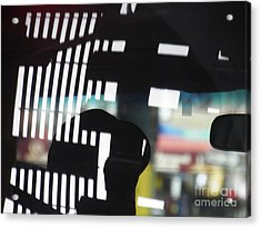Abstract Reflection 18 Acrylic Print by Sarah Loft
