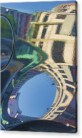 Abstract Reflection #2 Acrylic Print by Svetlana Rudakovskaya