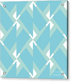Abstract Retro Pattern. Vector Acrylic Print