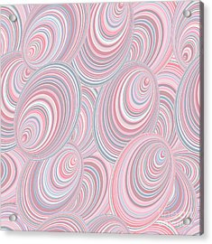 Abstract Seamless Background Resembling Acrylic Print