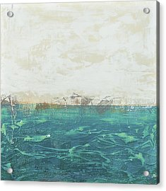Abstract Seascape 02/14a Acrylic Print by Filippo B