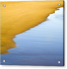Abstract Seascape Acrylic Print by Frank Tschakert