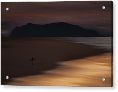 Acrylic Print featuring the photograph Abstract Shoreline 73a0160 by David Orias