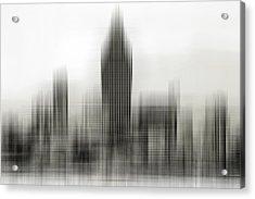 Abstract Skyline Acrylic Print by Pedro Fernandez