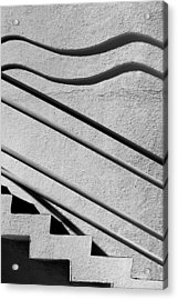 Abstract Stairs Acrylic Print