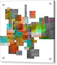 Abstract Study 23 Acrylic Print by Ann Powell