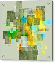 Abstract Study 27 Acrylic Print by Ann Powell