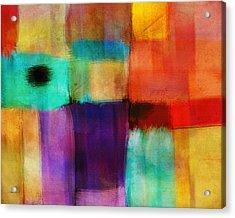 Abstract Study Three By Ann Powell Acrylic Print