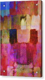 Abstract Study Two Acrylic Print by Ann Powell