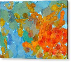 Abstract Summer #2 Acrylic Print by Pixel Chimp