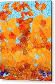 Abstract Summer Acrylic Print