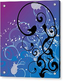 Abstract Swirl Acrylic Print