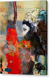 Abstract Tarot Art 011 Acrylic Print