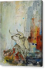 Abstract Tarot Art 017 Acrylic Print