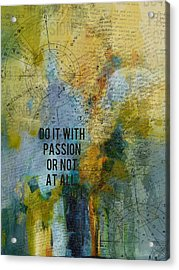 Abstract Tarot Art 020 Acrylic Print by Corporate Art Task Force