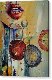 Abstract Tarot Art 021 Acrylic Print by Corporate Art Task Force