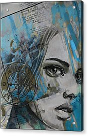 Abstract Tarot Art 022c Acrylic Print by Corporate Art Task Force