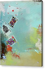 Abstract Tarot Card 009 Acrylic Print