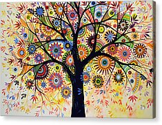 Abstract Tree Painting ... Life Giver Acrylic Print