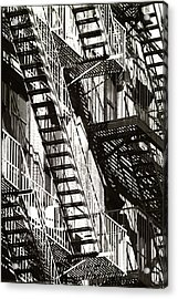 Abstract Urban Acrylic Print by Steven Huszar