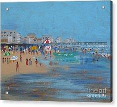Abstract Ventnor Beach Acrylic Print